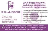 Docteur Gynecologue Houda Fagouri